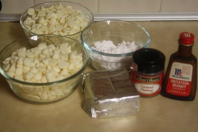 Homemade Eggnog Truffles