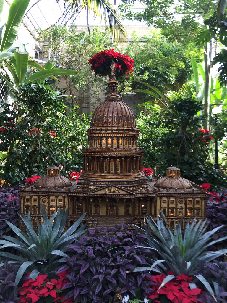 Miniature Capitol Building at U.S. Botanic Garden