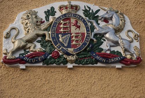 Royal Coat of Arms of Charles II (kasiainwales)