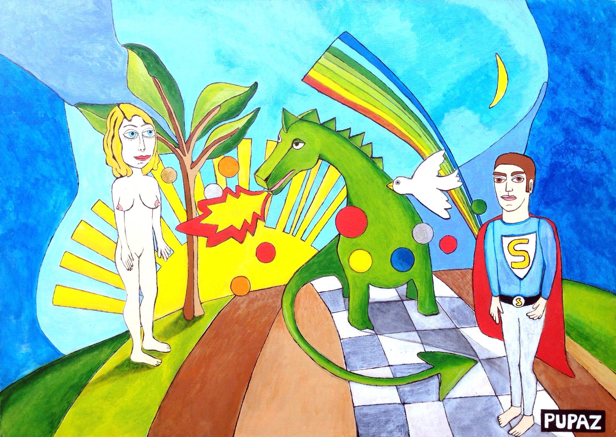 Adamo ed Eva nel paese delle meraviglie