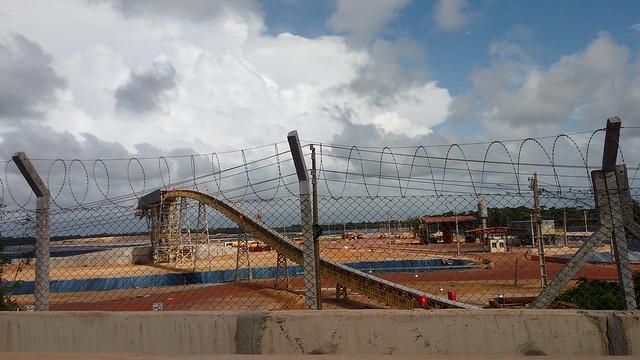 Depósito de rejeito de bauxita da Norsk Hydro - Créditos: Lilian Campelo/ Brasil de Fato