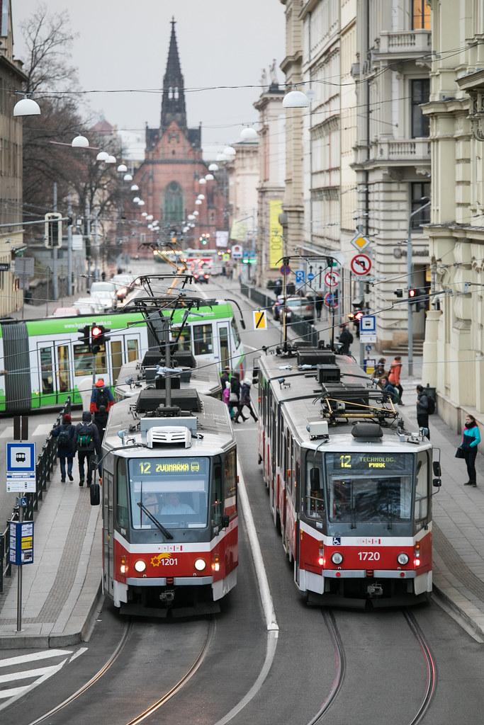 TRAM STREET BRNO #visitCZECH #チェコへ行こう #link_cz