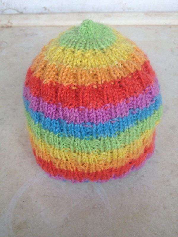 Baby Rainbow Hat