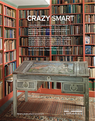 Crazy Smart Virginia Woolf Desk