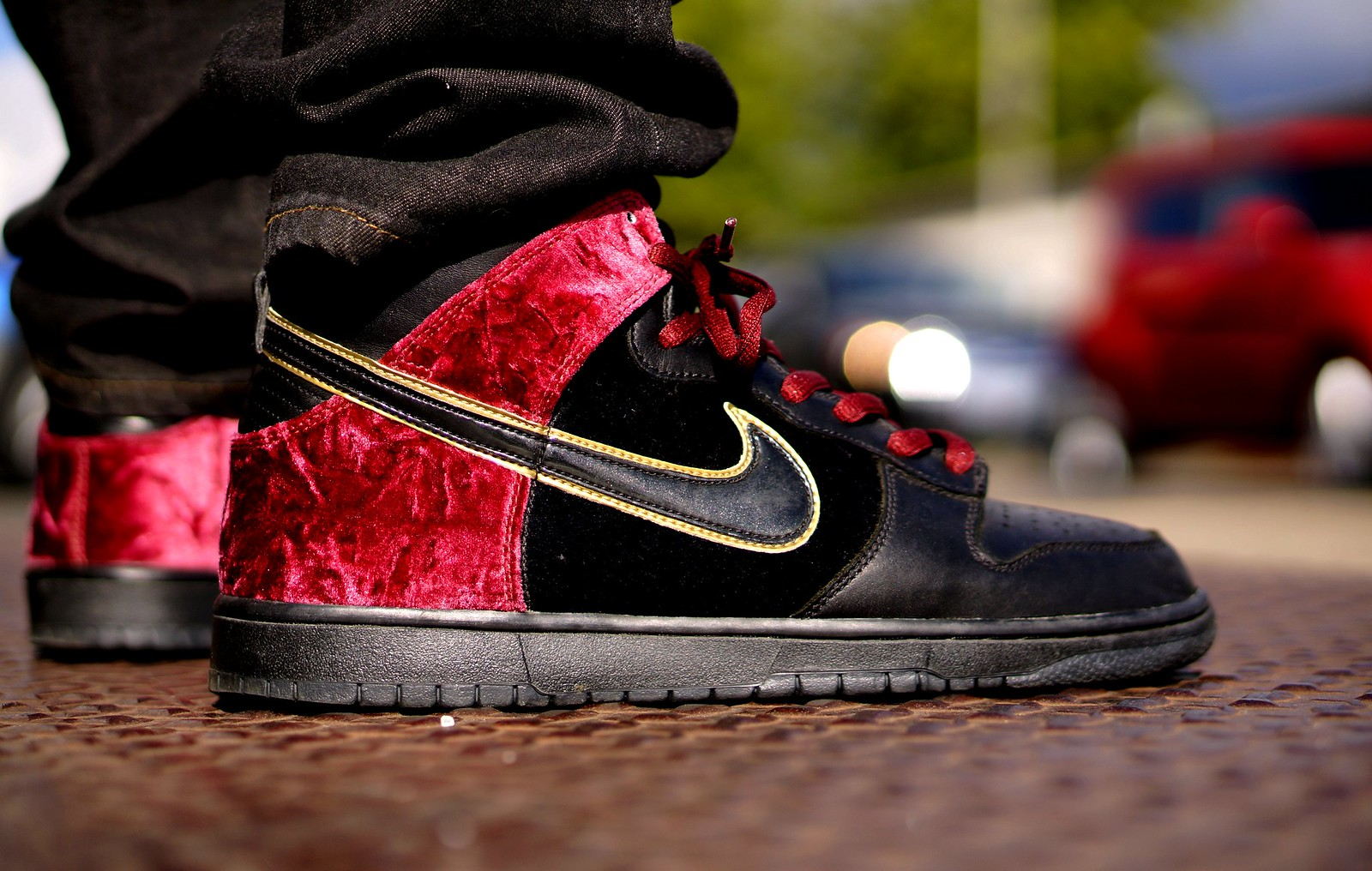 finest selection 67676 a7c10 SB Dunk High H.H. Smoking Jacket bloody sunday .
