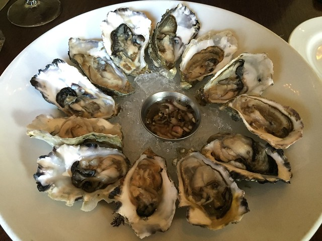 Hama Hama oysters - Eureka Restaurant and Lounge
