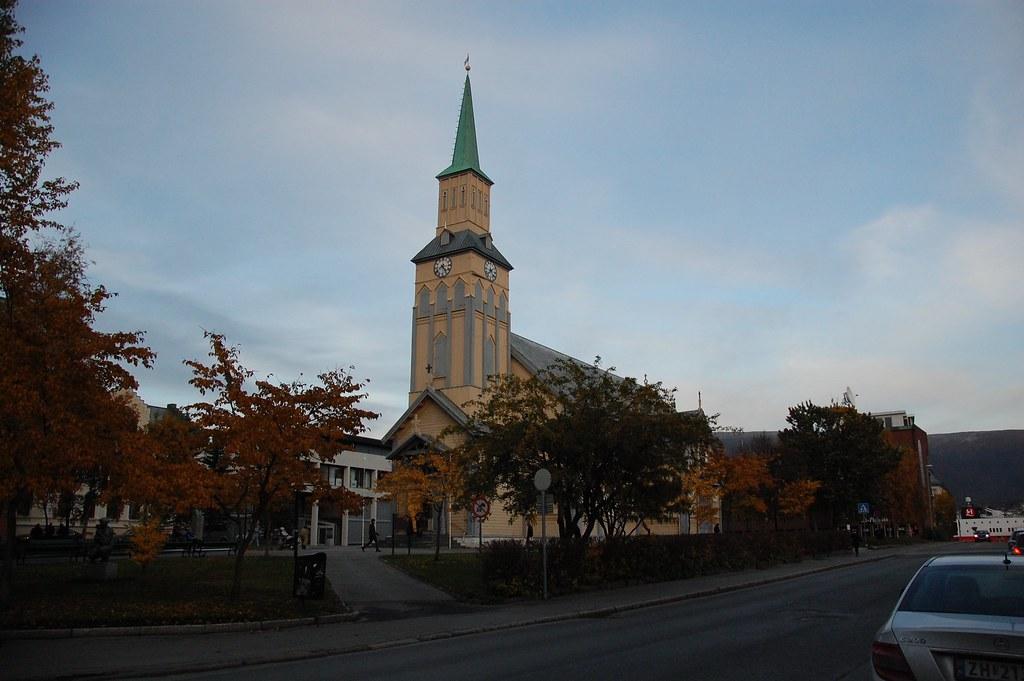 Iglesia en Tromso