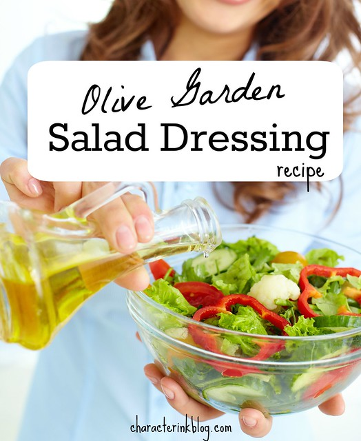 Olive Garden Salad Dressing Recipe Character Ink