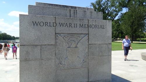 Washington DC WW2 Memorial July 15 7