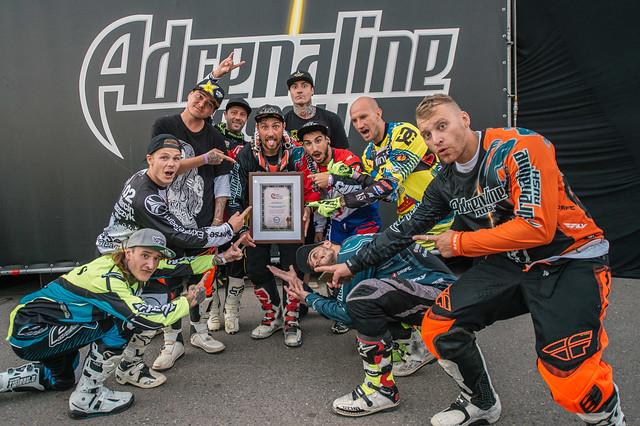 В финале шоу Adrenaline FMX Riders установлен новый рекорд России!