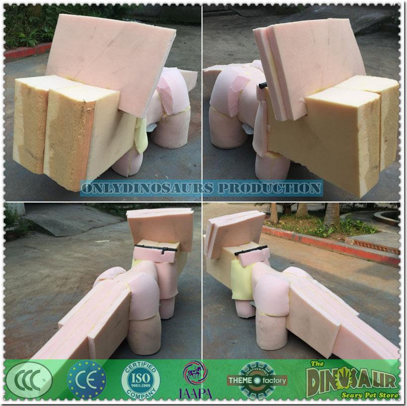 High Density Sponge on the Metal Frame
