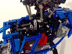 MD600N Rotorhead Closeup