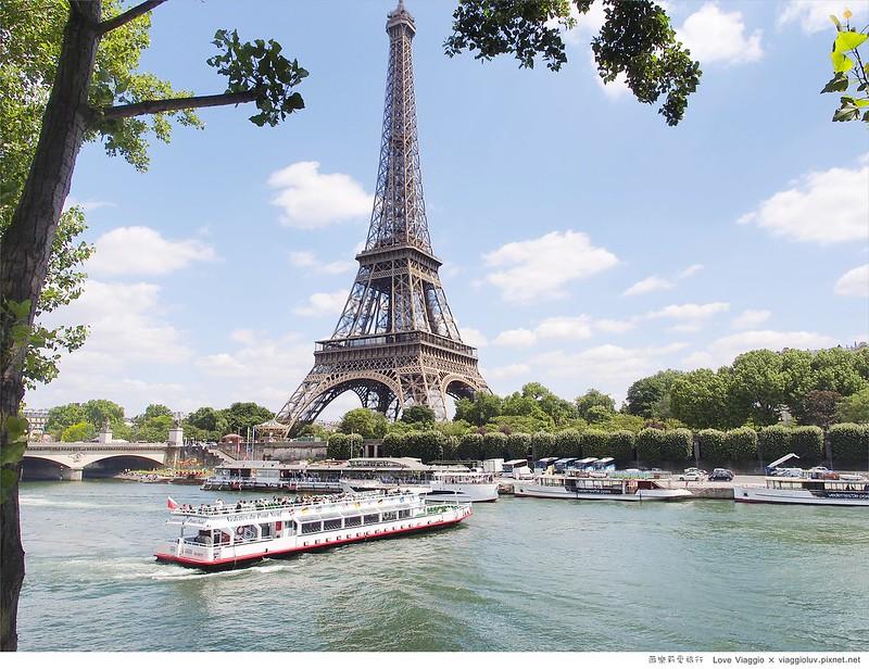 【巴黎 Paris】白天的艾菲爾鐵塔 悠閒塞納河畔與夏佑宮欣賞鐵塔 Eiffel Tower @薇樂莉 Love Viaggio | 旅行.生活.攝影