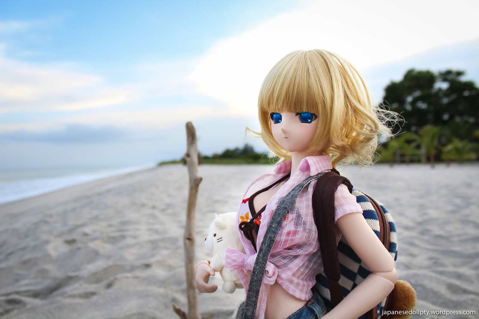 Sasara in the Beach