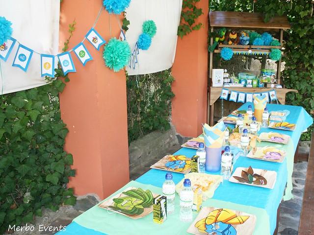 Cumpleaños Gormiti Merbo Events