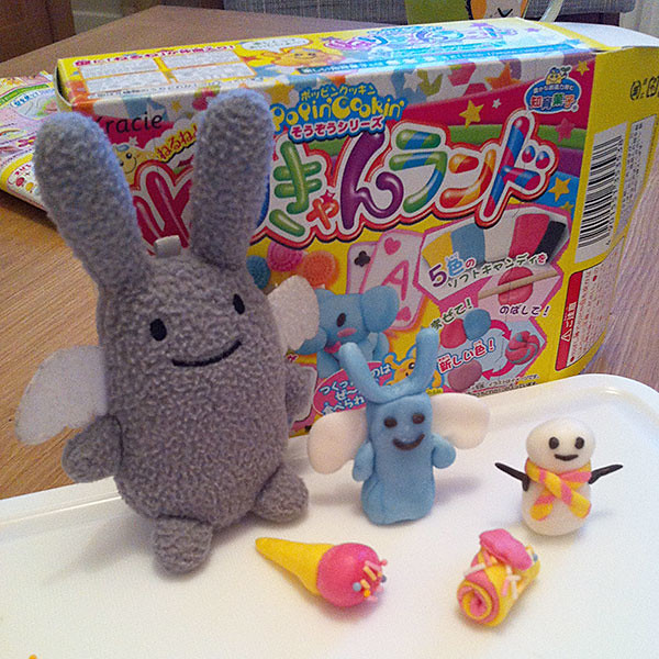 Our attempts at Popin' Cookin' Neri Candy Land Kit