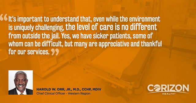 Chief Clinical Officer offers perspective on quality of inmate healthcare