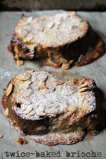 twice-baked brioche
