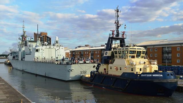 HMCS Winnipeg (3) @ KGV Lock 19-09-15