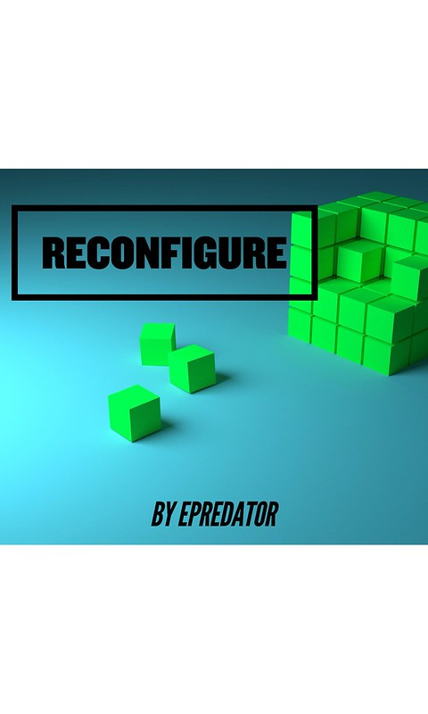 Exploring cover art ideas for #reconfigure