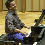 The Jacky Terrasson Quartet at Zipper Concert Hall, Friday, September 11, 2015. Photos reproduced by Bob Barry's kind permission.