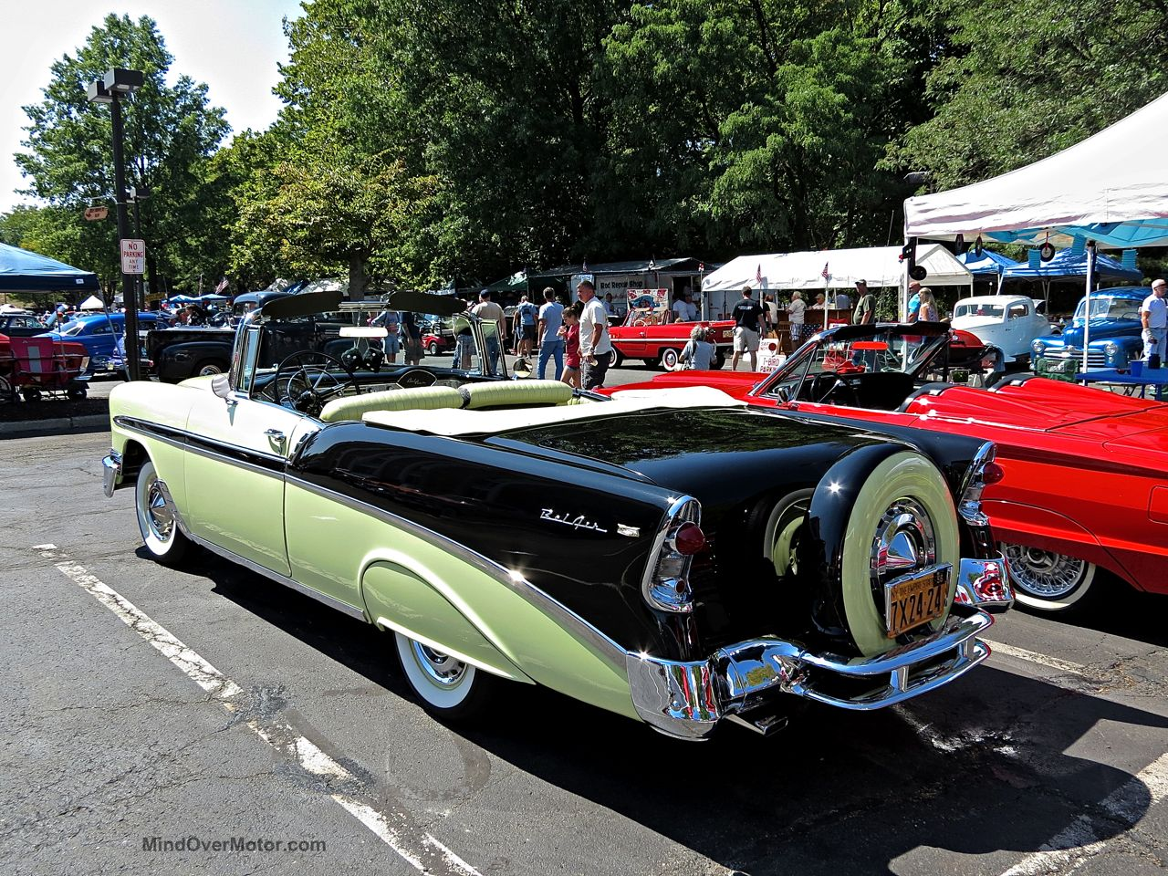 Chevrolet Bel Air Convertible Lead East 8