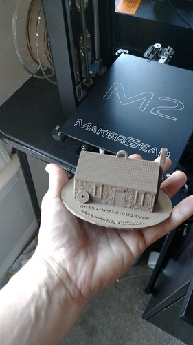3D Printing - BronzeFill Mill House Museum From the M2