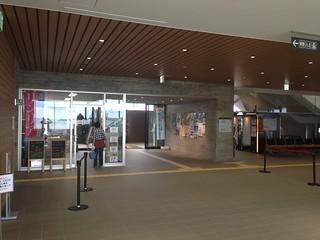 rishiri-island-oshidomari-ferry -terminal-souvenir-shop