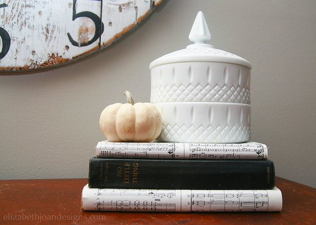 Fall Pumpkin Decor Books