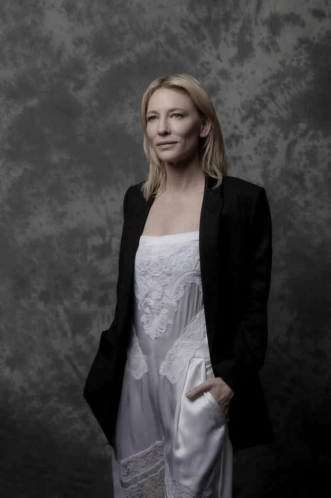 Кейт Бланшетт — Фотосессия для «Кэрол» на «BFI» 2015 – 5