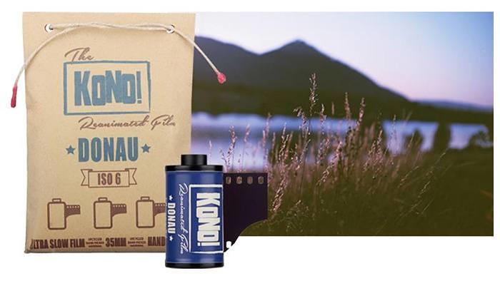 Le nouveau KONO Donau 6 ISO : Le film 35mm le plus lent du monde