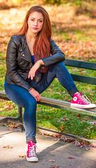 Park Bench Portrait