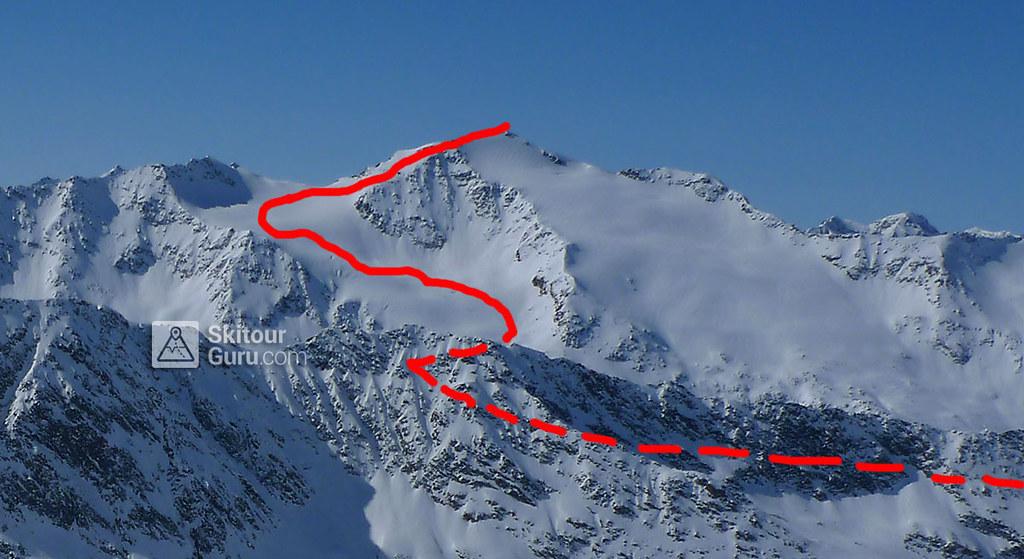 Schalfkogel E (Langtalereck H.) Ötztaler Alpen / Alpi Venoste Austria photo 01