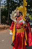 Not Cosplay - King Momo of the Carnival, Goa Waiting for his Chariot