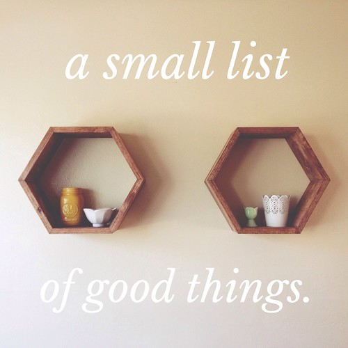 a small list of good things. | yourwishcake.com
