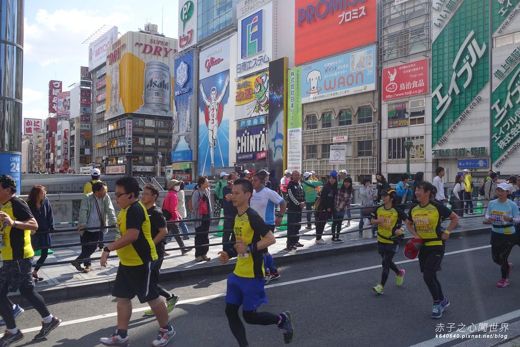 大阪馬拉松-跑步-18