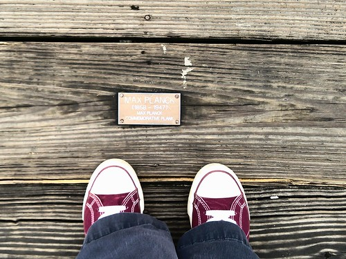 Magnolia Bridge - Max Planck commemorative plank