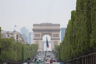 Image of Arc de Triomphe near Paris 08. archdetriomphe