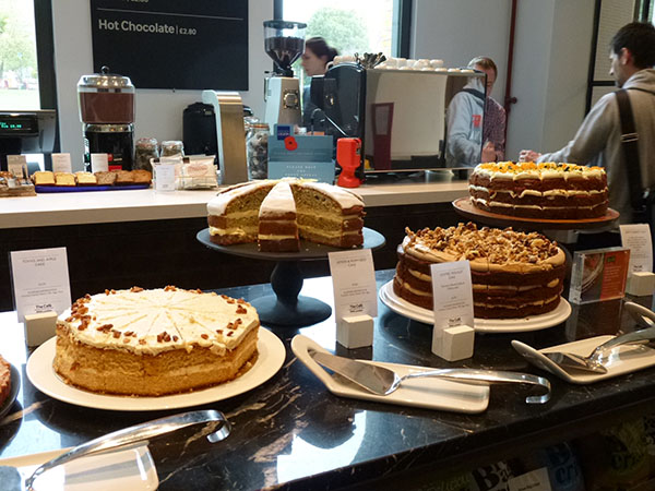 cakes at IWM