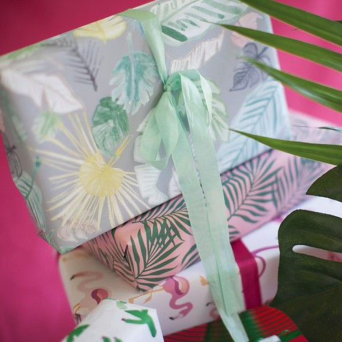 Revel & Co. Tropical Wrapping Paper