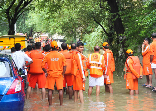 The National Disaster Response Force (NDRF) added 20 more teams to speed up rescue and relief operations across the city, taking the total tally of the specialised workforce to 50