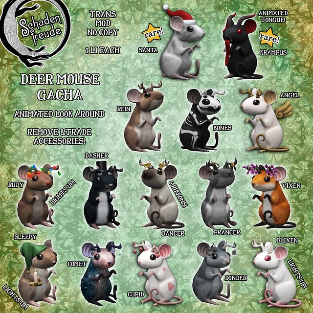 deer mice gacha