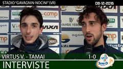 Virtus V.-Tamai del 08-12-16