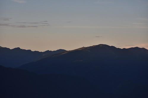 雪山雪東線-眺望合歡北峰