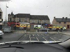 Accident on Glasgow Road