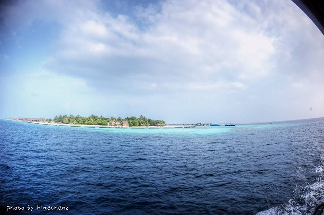 途中に見える島もどれも綺麗でした!