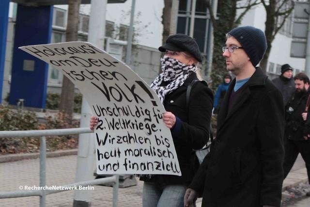 11.02.1017 Dresden: Nationalsozialistischer Shoah-Leugner-Aufmarsch um Gerhard Ittner