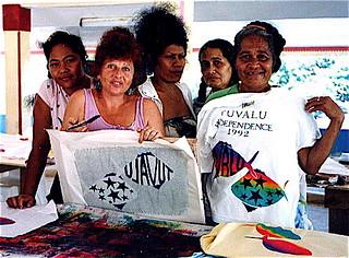 Nina at Tuvalu