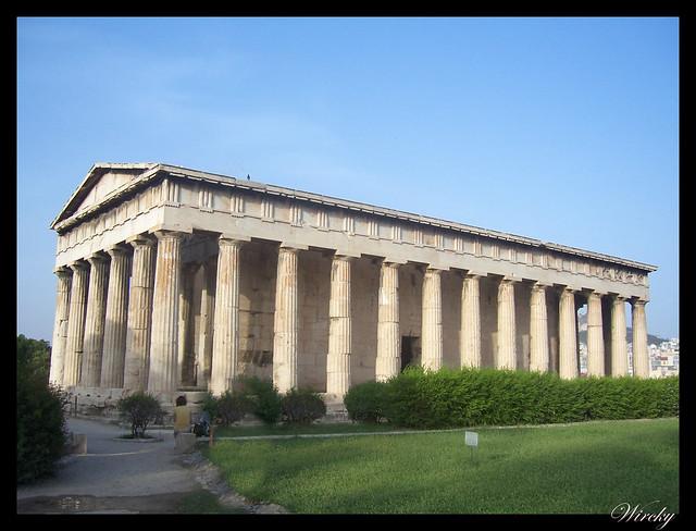 Grecia visita Atenas - Templo Hephaistos