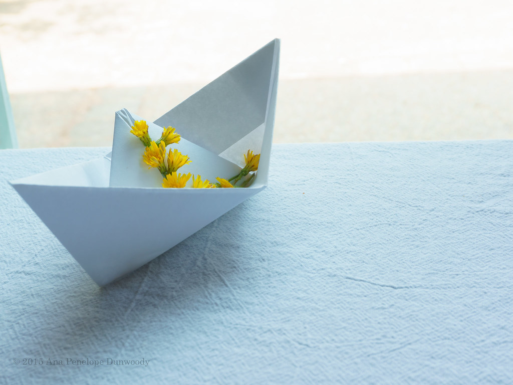 Fun with Origami Boat